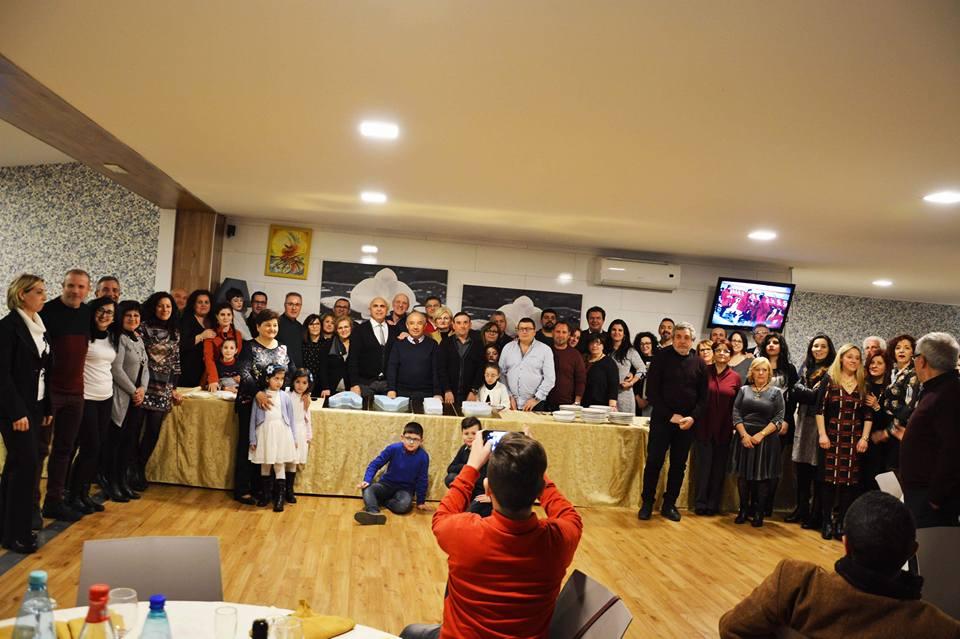 foto di gruppo dei soci partecipanti all'assemblea 2018