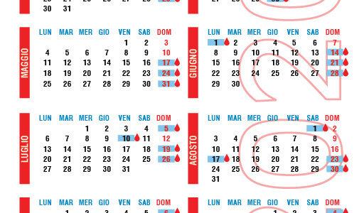 Calendario delle Giornate di Raccolta 2020