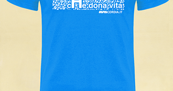 Vi presentiamo la nuova t-shirt AVIS Scordia per il 2018